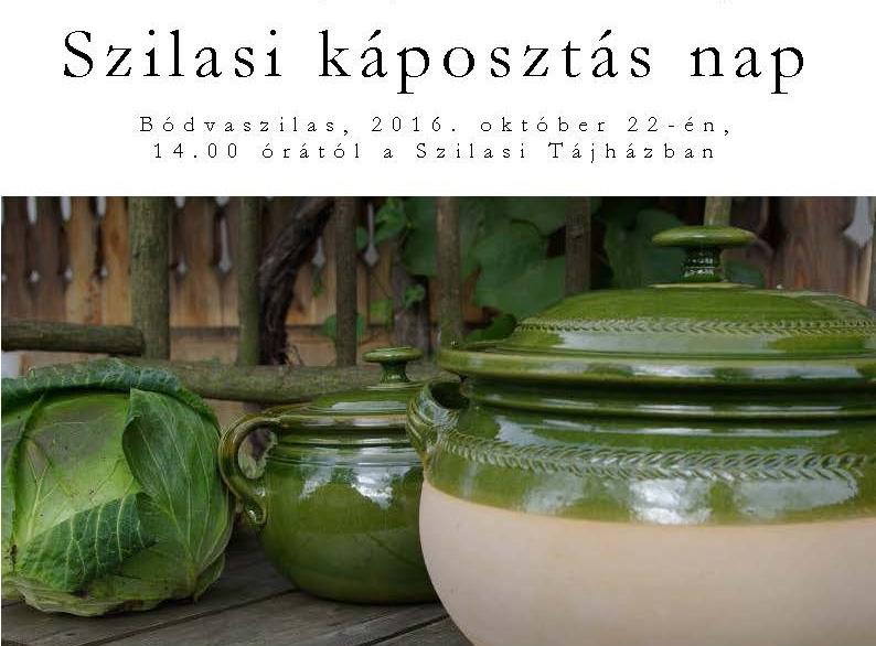 IMeghívó * Szilasi káposztás nap * 2016. október 22.
